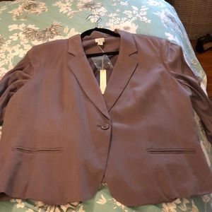 NWT Dusty Purple Blazer